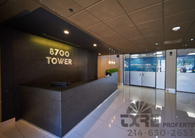 8700 Stemmons reception area
